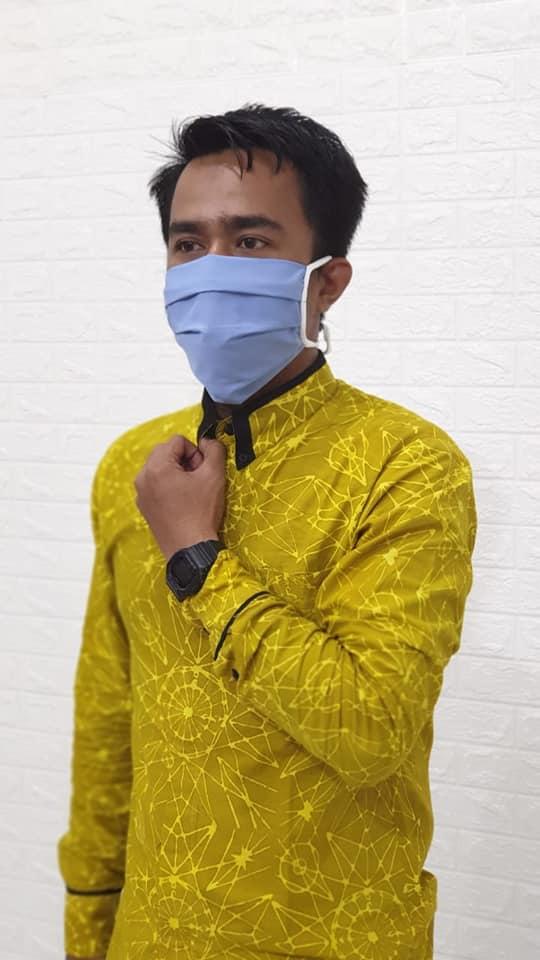 Masker Kain Tali Non-Medis Nyaman untuk Teknisi AC Panggilan