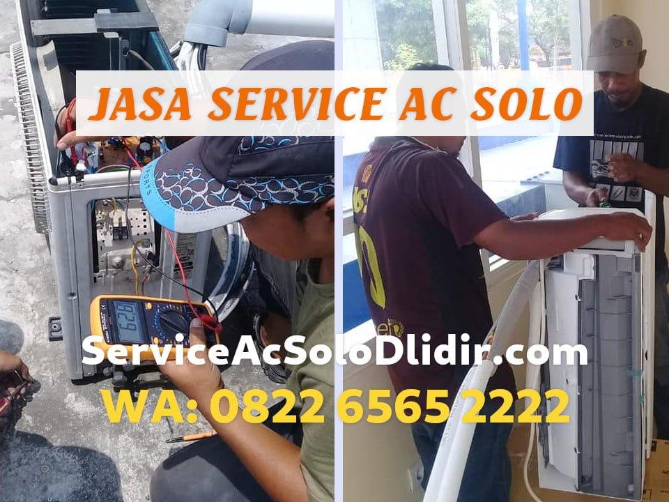 Service AC Ruangan Banjarsari Surakarta Teknisi Handal
