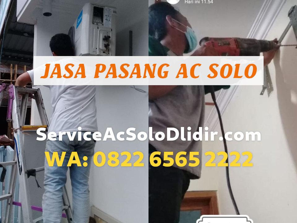 Harga dan Biaya Jasa Pasang AC Solo Kota Termurah WA 0823-2667-7779 / 0821-3369-2587